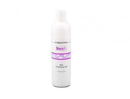 Молочный очищающий гель для сухой и нормальной кожи