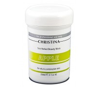 CHRISTINA Sea Herbal Beauty Green Apple Mask for Oily & Combination skin 250ml