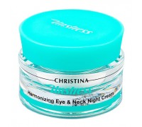 CHRISTINA Unstress Harmonizing Eye & Neck Night Cream 30ml