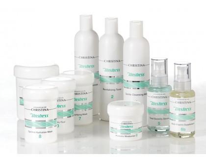 Профессиональный набор препаратов для восстановления и защиты кожи от стресса (10 препаратов)